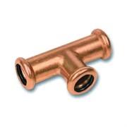 Тройник для труб 15-22 мм. Медь, Retrika RMFT-18M