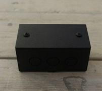 Коробка распределительная малая Черный Муар  Villaris-Loft GBQ 4828221
