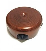 Распределительная коробка ретро пластиковая 78-110 мм Медный Век, Bironi B1-521-16-К