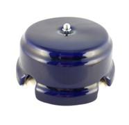 Коробка распределительная ретро фарфоровая лазурная Leanza Azzurro КРЛC