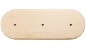 Универсальная подложка ЭС 3х-местн. деревянная ретро без отделки
