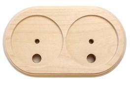 Подложка 2х-местн. деревянная ретро без отделки KERUDA