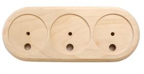 Подложка 3х-местн. деревянная ретро без отделки KERUDA