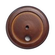 Подложка 1-местн. деревянная ретро коричневая Верона