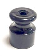Изолятор пластиковый ретро Черный