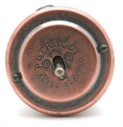 Выключатель ретро однорычажковый Старая Медь  PETRUCCI 301VCUPO