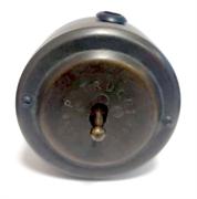 Выключатель ретро однорычажковый латунь, цвет Старая Бронза PETRUCCI 301VBRO