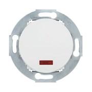 Ретро выключатель одноклавишный с индикатором 10А, 250В (белый) Vintage LK STUDIO 880204-1