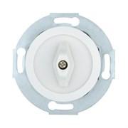 Ретро выключатель поворотный 10А, 250В (белый) Vintage LK STUDIO 880704-1