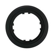 Рамка 1-постовая круглая (черный) Vintage--Classic LK STUDIO 889108-1