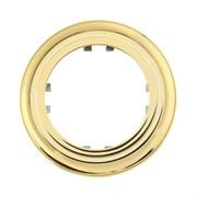 Рамка 1-постовая круглая (золото) Vintage-Classic LK STUDIO  889116-1