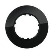 Рамка 1-постовая, стекло темное, круглая Vintag LK STUDIO 889110-1