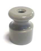 Изолятор пластиковый ретро Серый