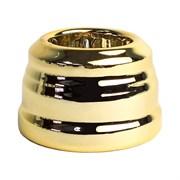 Розетка с заземлением  ретро Золото EDISEL KGS-7GM