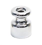 Изолятор ретро керамический Серебро EDISEL