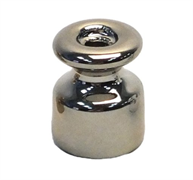 Изолятор ретро керамический Темное Серебро EDISEL