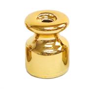 Изолятор ретро керамический Золото EDISEL