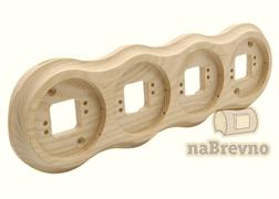 Подложка 4-местная на бревно naBrevno RV4-220