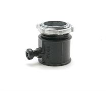 """Коннектор 20 мм., для прводки из труб """"Черный муар""""  PETRUCCI RL3M20MR"""
