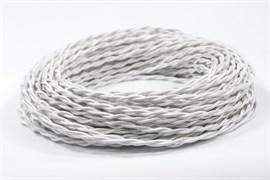 Ретро провод витой Белый Шелк Interior Wire Магус ТМ ПВР2075-К002