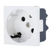 Розетка с з/к с защитными шторками под углом 45 градусов LK45 LK STUDIO 851204