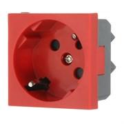 Розетка с з/к с защитными шторками с ключом LK45 LK STUDIO 851607