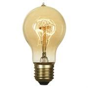 Лампа накаливания E27 60W 2700K прозрачная GF-E-719