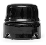 Распаячная коробка большая Черная Salvador
