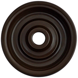 """Накладка для выключателя, цвет коричневый """"Шедель"""" Bironi"""