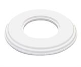 Рамка одноместная белая керамика Bironi