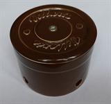 Распаячная коробка Коричневая D80 Villaris