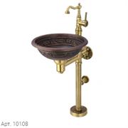 Медная раковина 10108 Bronze de Luxe
