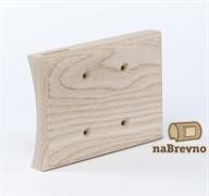 Универсальная накладка на бревно для сдвоенных механизмов naBrevno