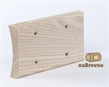 Универсальная накладка на бревно для двух механизмов naBrevno