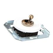 Выключатель тумблерный ретро  CL41 для внутреннего монтажа проходной Salvador
