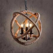 Подвесной светильник Rope Orb LOFT1194-3