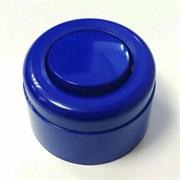 Выключатель ретро пластиковый Синий 1-клавишный