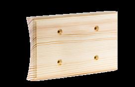 Универсальная накладка на бревно для двух механизмов Сосна naBrevno