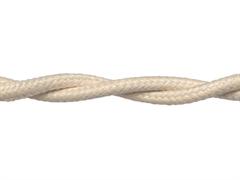 Коаксиальный кабель ретро Слоновая кость RETRIKA