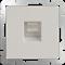 Розетка Ethernet RJ-45  (слоновая кость) WL03-RJ-45-ivory - фото 11309