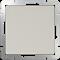 Выключатель одноклавишный проходной (слоновая кость) WL03-SW-1G-2W-ivory - фото 11317
