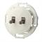 Выключатель 2кл, тумблерный Vintage 882304-1, белый/бронза LK STUDIO 882304-2 - фото 20637