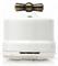Выключатель ретро поворотный Белый  Salvador OP11WT для наружного монтажа - фото 4010