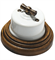 Выключатель поворотный Белый  Salvador OP11WT для наружного монтажа