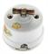 Выключатель ретро, поворотный, Яблоня Salvador ОР11AP для наружного монтажа - фото 4019