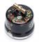 Выключатель ретро, поворотный 2-х позиц.  Хохлома Salvador OP11BL.HL для наружного монтажа - фото 4042