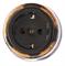 Розетка с заземлением и шторками Экзотик Salvador OP12EX для наружного монтажа - фото 4075