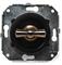 Выключатель ретро на 1 группу света, проходной, Salvador CL11WT - фото 4379