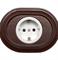 Розетка с заземлением и шторками для внутреннего монтажа Salvador  - фото 4385