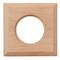 """Рамка одноместная квадрат цвет """"натурель"""" коллекция """"Шедель"""" Bironi - фото 4862"""